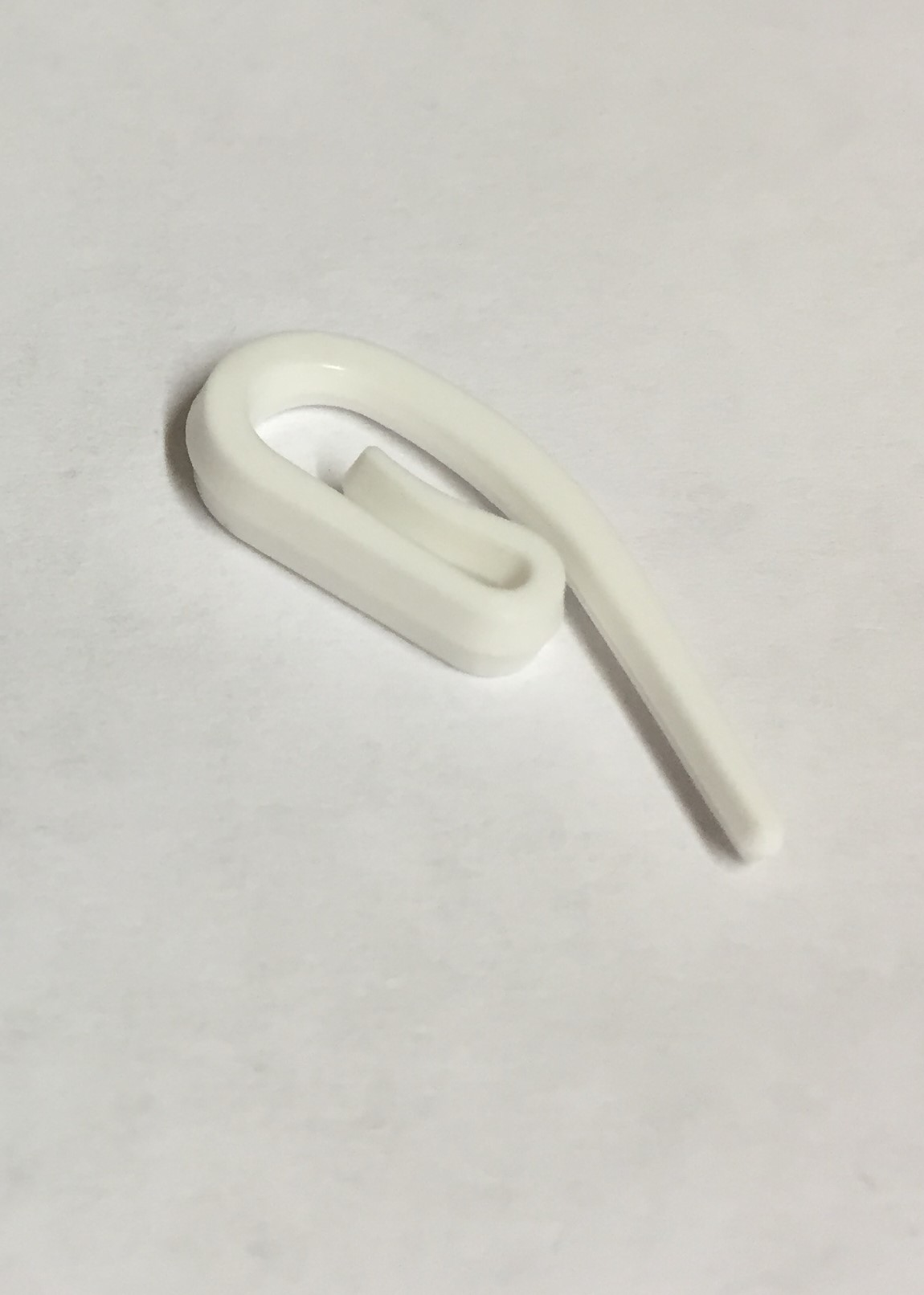 Plastic curtain hooks low woods furnishings for Curtain making service